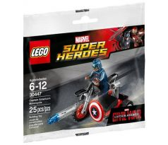 LEGO Super Heroes 30447 Captain America's Motorcycle polybag