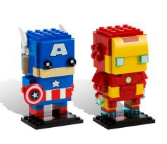 LEGO Comic-Con Brickheadz 41492 Iron Man and Captain America