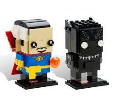 LEGO Comic-Con Brickheadz 41493 Black Panther and Doctor Strange