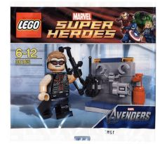 LEGO Super Heroes Hawkeye with Equipment polybag