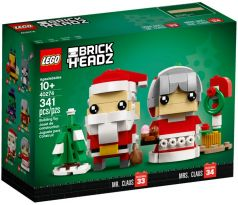 LEGO Brickheadz 40274 Mr. Claus & Mrs. Claus