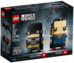 LEGO 41610 Tactical Batman & Superman- Brickheadz