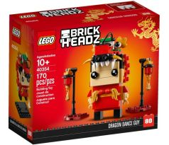 LEGO 40354 - Dragon Dance Guy- Brickheadz- Chinese New Year