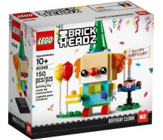 LEGO 40348 Birthday Clown- Brickheadz