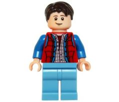 LEGO (21103) Marty McFly-   LEGO Ideas- Back to the Future
