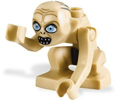 LEGO (9470) Gollum - Wide Eyes- The Lord of the Rings
