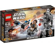LEGO 75195 Ski Speeder vs. First Order Walker Microfighters- Star Wars Episode 8