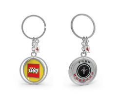 LEGO (5005822) Ford Mustang (10265) RARE VIP KEYCHAIN