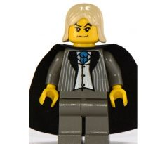 LEGO (4731) Lucius Malfoy, Dark Gray Suit Torso, Dark Gray Legs- Harry Potter: Chamber of Secrets