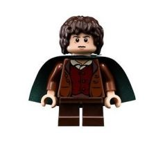 LEGO (9472) Frodo Baggins - Dark Green Cape- The Lord of the Rings
