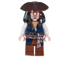 LEGO (30133) Captain Jack Sparrow with Tricorne and Blue Vest- Pirates of the Caribbean