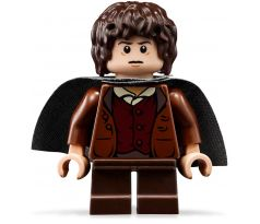 LEGO (9470) Frodo Baggins - Dark Bluish Gray Cape - The Lord of the Rings