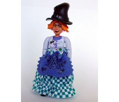 LEGO (5838) Belville Female - Witch Madam Frost with Skirt and Hat