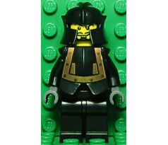 LEGO (10176) Breastplate - Armor over Black, Cheek Protection Helmet (Evil Knight)- Castle: Knights Kingdom I