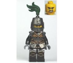 LEGO (852922) Dragon Knight Armor with Chain, Helmet Closed, Bared Teeth- Castle: Kingdoms