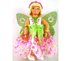 LEGO (5861) Belville Female - Josephine, White Top with Laced Green Inset, Fairy Skirt, Headband
