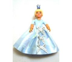 LEGO (5834) Belville Female - Princess Elena Pale Blue Top with Skirt, Crown