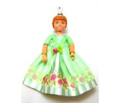 LEGO (5834) Belville Female - Princess Flora Medium Green Top with Skirt, Crown