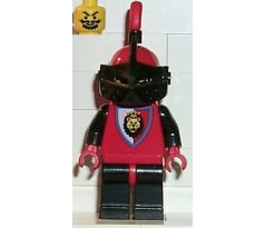 LEGO (6090) Royal Knights - Knight 2 with Plume- Castle: Royal Knights