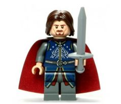LEGO (79007) Aragorn, Red Cape- The Lord of the Rings