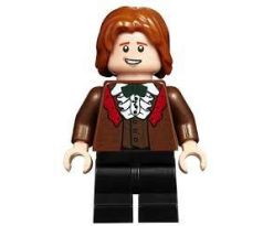 LEGO (75948) Ron Weasley, Reddish Brown Suit, Shirt with Ruffle- Harry Potter: Goblet of Fire