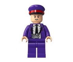 LEGO (75957) Stan Shunpike in Knight Bus Conductor Uniform, Red Band on Hat-  Harry Potter: Prisoner of Azkaban