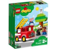 Lego DUPLO 10901 Fire Track- Town: Fire