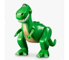 LEGO (10769) Dinosaur, Toy Story (Rex), Tan Belly and Eyebrows Pattern-  Toy Story 4
