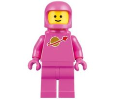 LEGO (70841) Classic Space - Pink with Airtanks and Updated Helmet (Lenny)- The LEGO Movie 2