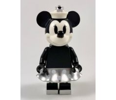LEGO (21317) Minnie Mouse - Grayscale, Steamboat Willie- Ideas Disney's Mickey Mouse