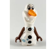 LEGO (40361) Olaf - Mini Doll Body, Metallic Blue Snowflakes- Disney: Frozen II