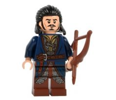 LEGO (79017) Bard the Bowman - Silver Buckle and Shirt Grommets- The Hobbit and the Lord of the Rings: The Hobbit