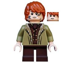 LEGO (79016) Bain Son of Bard - Coat with Fur Trim-The Hobbit: The Battle of the Five Armies