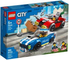 LEGO 60242 Police Highway Arrest - City Police