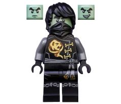 LEGO (70593) Cole - Skybound, Ghost, Hair -  Ninjago: Skybound