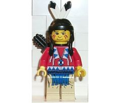 LEGO (6763) Indian Red Shirt, Quiver - Western: Indians