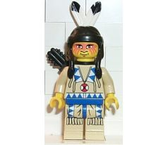 LEGO (6763) Indian Tan Shirt, Quiver - Western: Indians