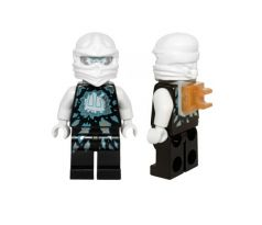 LEGO (70730) Zane (Airjitzu) Neck Bracket - Ninjago: Possession