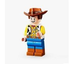 LEGO (10770) Woody - Normal Legs, Minifigure Head, Smile with Teeth / Scared- Toy Story 4