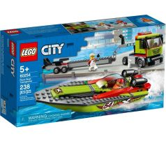 LEGO 60254 Race Boat Transporter - City: Harbor
