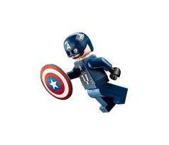 LEGO (76143) Captain America - Dark Blue Suit, Black Hands - Super Heroes: Avengers-