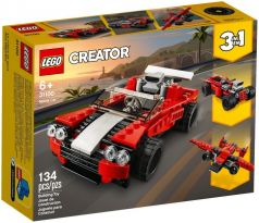 LEGO 31100 Sports Car - Creator: Model: Race