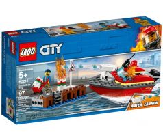 LEGO 60213 Dock Side Fire - City: Fire