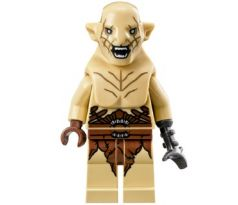 LEGO (79017) Azog - Wide Open Mouth - Silver Buckle and Shirt Grommets- The Hobbit and the Lord of the Rings: The Hobbit