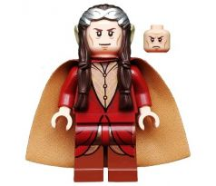 LEGO (79006) Elrond, Silver Crown, Dark Red Clothing - The Lord of the Rings