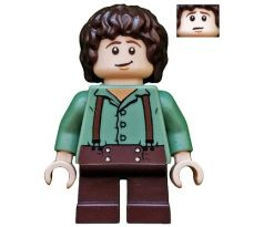 LEGO (9469) Frodo Baggins - Sand Green Shirt - The Lord of the Rings