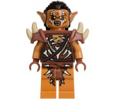 LEGO (79011) Gundabad Orc - Hair and Shoulder Spikes - Hair - The Hobbit