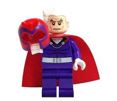 LEGO (76022) Magneto Dark Purple Outfit - Super Heroes: X-Men