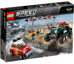LEGO 75894 1967 Mini Cooper S Rally and 2018 MINI John Cooper Works Buggy - Speed Champion