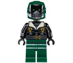 LEGO (76083) Vulture, Dark Green Flight Suit, Black Bomber Jacket - Super Heroes  Spider-Man Homecoming